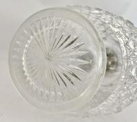 Silver & Crystalclaret Jug. Sheffield 1894. (6 of 10)