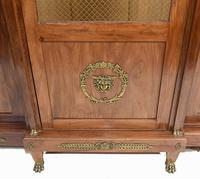French Antique Bookcase Second Empire Bibliotheque Cabinet (3 of 20)