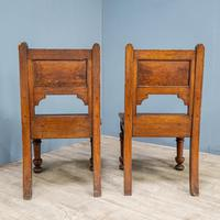 Pair of Arts & Crafts Hall Chairs (11 of 13)