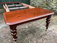 Very Large Victorian Mahogany Extending Dining Table (14 of 16)