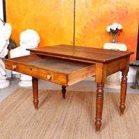 Desk Writing Table Victorian Pine (7 of 9)