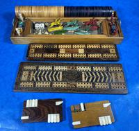 Victorian Pine Partially Fitted Games Box (7 of 32)