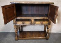 Titchmarsh Goodwin English Oak Wine Cabinet (3 of 11)