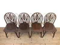 Set of Four Wheelback Dining Chairs (2 of 11)