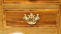 Edwardian Regency Style Inlaid Mahogany Writing Table (11 of 24)