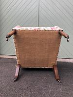 Antique English Upholstered Armchair (7 of 7)