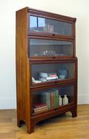 Handsome 1930s Barrister Solicitors Oak Bookcase (2 of 13)