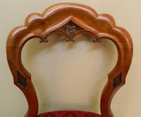 set of 8 mahogany dining chairs (2 of 7)