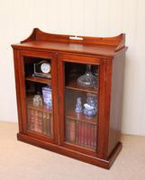 Mahogany Display Bookcase (3 of 9)
