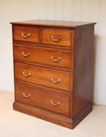 Late 19th Century Walnut Chest of Drawers (9 of 12)