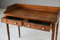 Victorian Mahogany Console Table / Washstand (5 of 9)