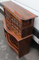 1910's Coromandel Open Bookcase with Mother of Pearl Inset (3 of 6)