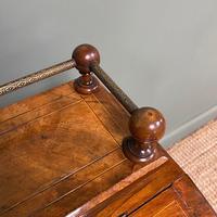 Stunning Victorian Walnut Antique Davenport Whatnot (8 of 10)
