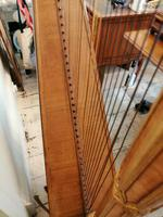 Beautiful Erard Gothic Concert Maple & Gilded Harp (8 of 11)
