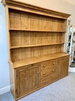 Large Antique Pine Dresser (4 of 16)