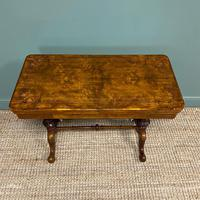 Quality Figured Walnut Victorian Antique Card Table / Games Table (9 of 9)