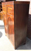 1940s Mahogany 2 Door Wardrobe with Brass Fitting (3 of 4)