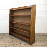Early 20th Century Antique Oak Bookcase (4 of 9)