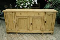 2m Pine Dresser Base Sideboard / Cupboard / TV Stand (3 of 13)