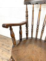 Antique 19th Century Penny Armchair (6 of 9)