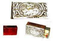 Arts & Crafts Silver Matchbox Cover - 1903 (2 of 4)