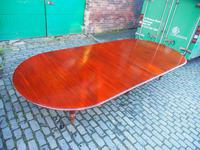Large George IV Mahogany Dining Table by M. Willson, London (2 of 20)