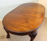 Wonderful Antique Victorian Mahogany Extending Dining Table (7 of 15)