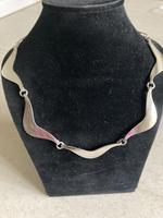Danish Silver Necklace by Hermann Siersbol (2 of 5)