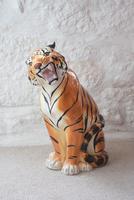 Large Mid-Century Italian Ceramic Tiger (8 of 10)