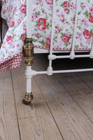 Beautiful Victorian King Size Half Tester Bed (4 of 11)