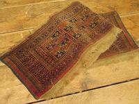 Antique Tent Bag Face, Kilim Runner Rug (8 of 9)