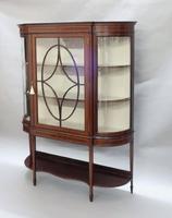 Edwardian Mahogany Glazed Display Cabinet (2 of 7)