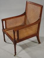 Very Good and Original Regency Period Bergère Armchair (6 of 6)