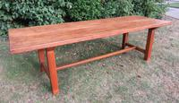 Antique French Elm & Ash Farmhouse Dining Table (6 of 9)
