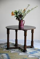 1930s Round Oak Coffee Table (5 of 12)