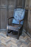 Antique Wainscot Chair (2 of 9)