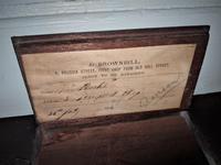 19th Century Mahogany Fusee Wall Clock (3 of 4)