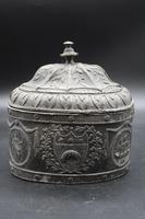 Very Good George III Period Oval Lead Tobacco Box (2 of 5)