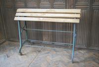 Antique Wrough Iron French Saddle Rack (4 of 4)