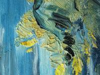 20th Century Oil Painting Wales Menai Bridge Church Straits Snowdonia Mountains (12 of 27)