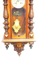 Wow! Antique German Spring Driven Striking 8-day Vienna Wall Clock by Gustav Becker (13 of 13)