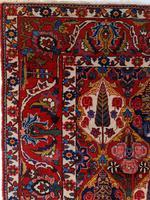 Antique Bakhtiari Rug with Sarv-o-kâdj Design (2 of 14)