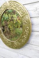 Arts & Crafts Movement Scottish / Glasgow School Circular Wall Mirror c.1900 (14 of 24)