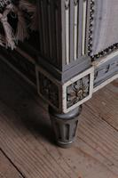 Beautiful Newly Upholstered King Size French Louis XVI Style Bed (9 of 11)