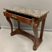 French Empire Marble Top Console Table (5 of 7)