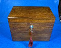 Georgian Mahogany Stationary Box (10 of 17)