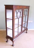 Antique Mahogany Glazed Display Cabinet (2 of 10)