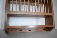 Solid Oak Wall Mounted Plate Rack (8 of 10)