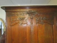 French 19th Century Oak Armoire (2 of 8)