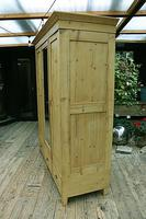 Superb! Old Triple Door 'Knock Down' Pine Combination Wardrobe - We Deliver! (8 of 11)